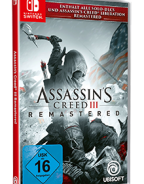 ASSASSIN'S CREED III REMASTERED BRINGT DIE AMERIKANISCHE REVOLUTION AUF NINTENDO SWITCH