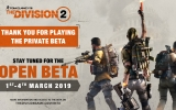TOM CLANCY'S THE DIVISION 2  OPEN BETA STARTET AM 1. MÄRZ