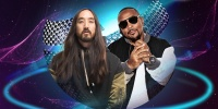 Steve Aoki feat. Timbaland exklusiv beim WORLD CLUB DOME live on Stage